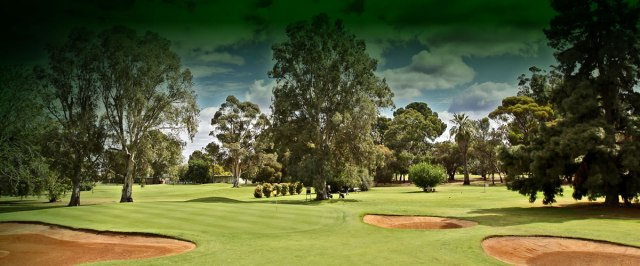 No, it wasn't the Mildura Golf Course
