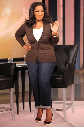 Oprah can do no wrong she's just fab!